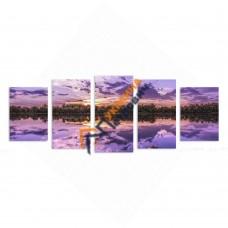 Модульна фотокартина на полотні «Світанок»