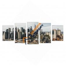 Модульная фотокартина на холсте «New York»