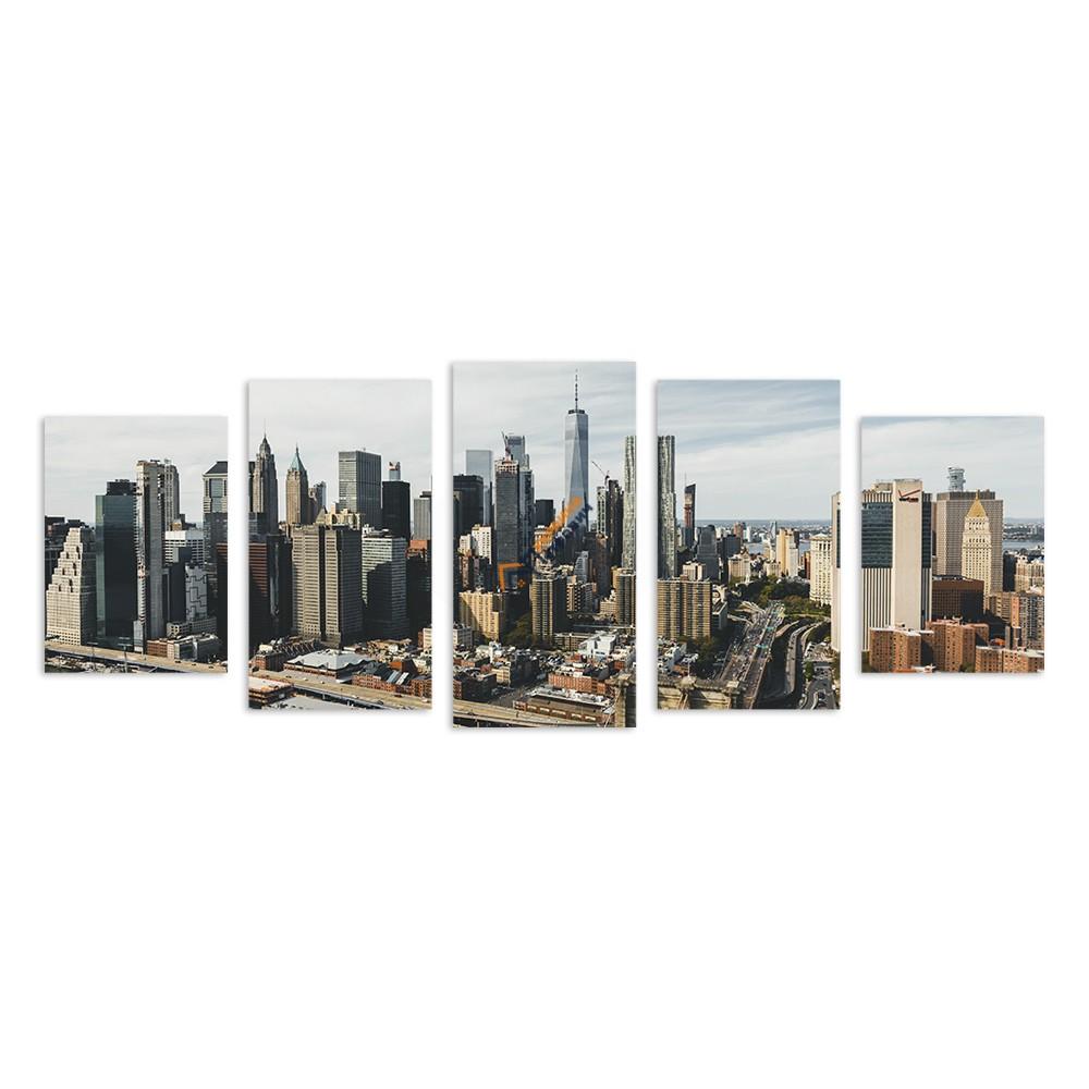 Модульна фотокартина на полотні «New York» - ціна, відгуки, характеристики на будбазі у Києві та Харкові