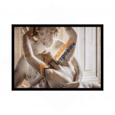 Постер у рамці формату А4 - «Кам'яна любов»