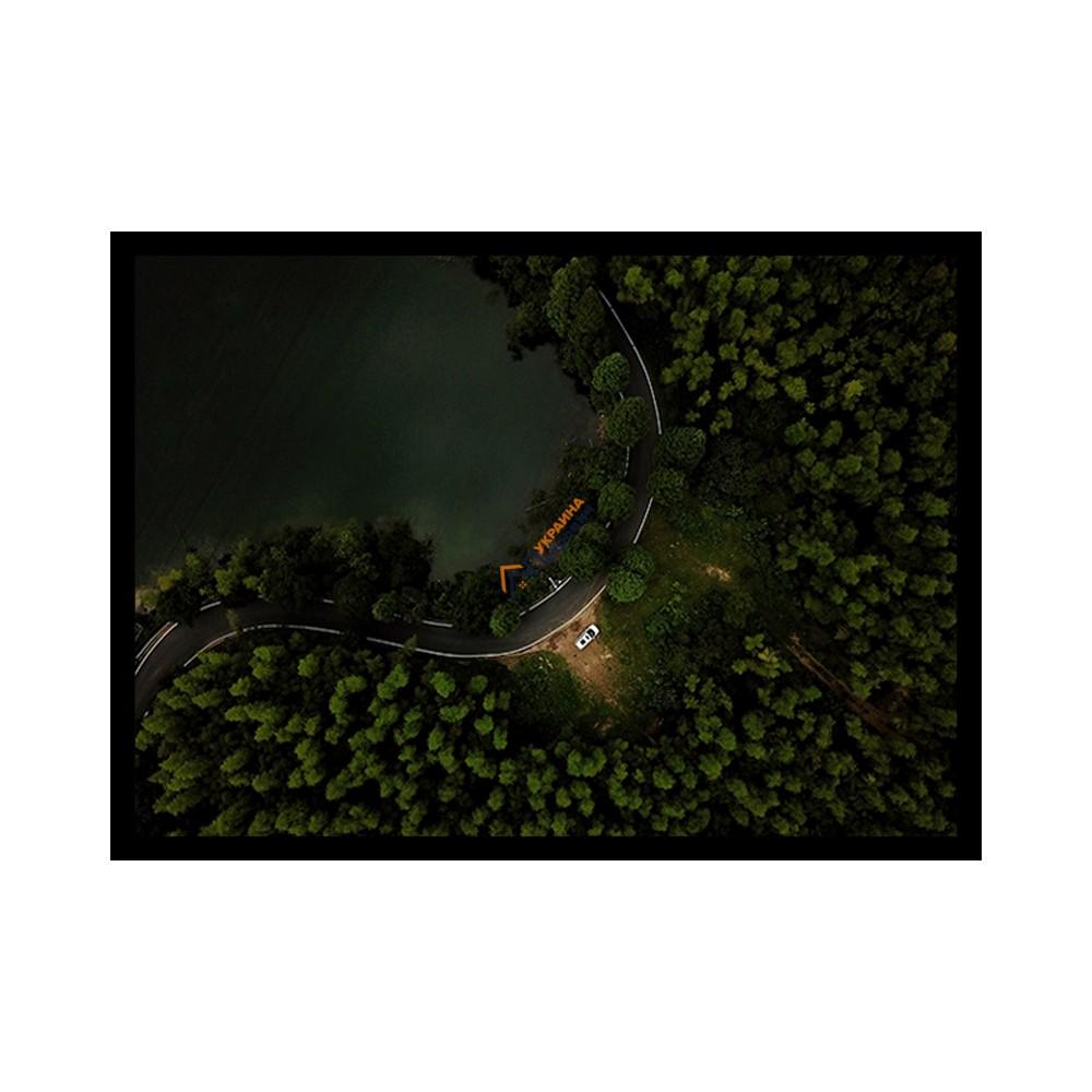 Постер в рамке формата А4 - «Дорога» - цена, отзывы, характеристики на стройбазе «Петрович Харьков»